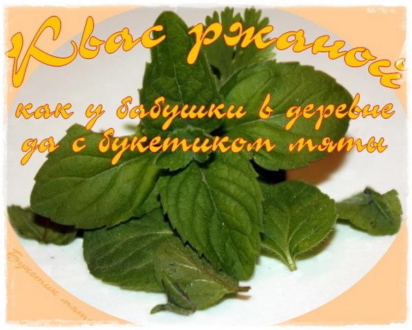 Квас ржаной Напитки, Рецепт, Квас, Длиннопост