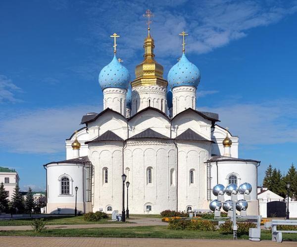 Благовещенский собор, строительство закончено в 1562 г. архитектура, загадки, история, история россии, расследования, тайны