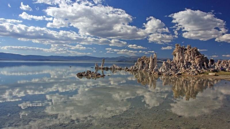 Озеро Моно (США) наша планета, озера, самые опасные