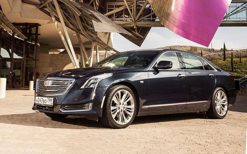 Cadillac CT6 — первый тест-драйв