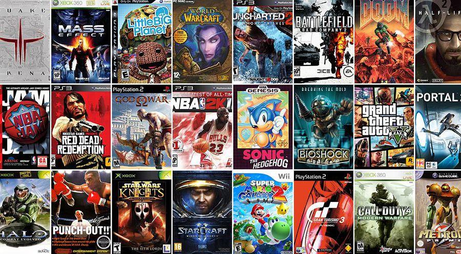 Лучшие видеоигры в истории российский