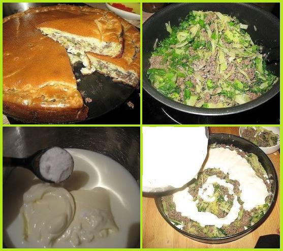 Вкусняшка - Пирог с капустой…