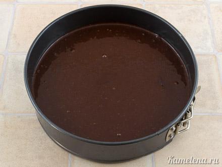 «Дьявольский» шоколадный торт — 4 шаг