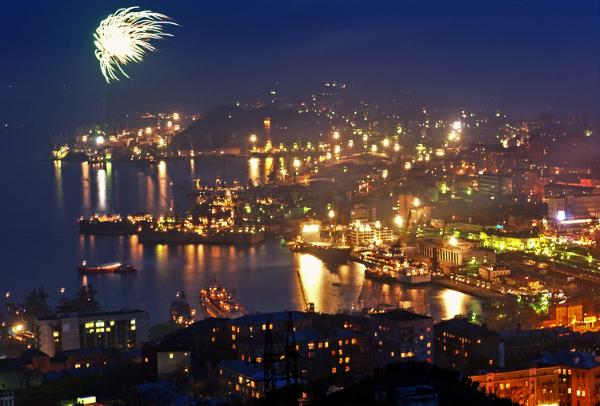 Жители Хабаровска уже встретили Новый Год