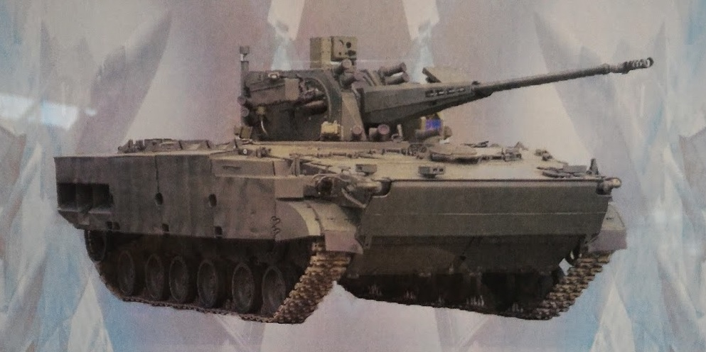 """Самоходный зенитный артиллерийский комплекс по ОКР """"Деривация-ПВО"""" с боевой машиной 2С38"""