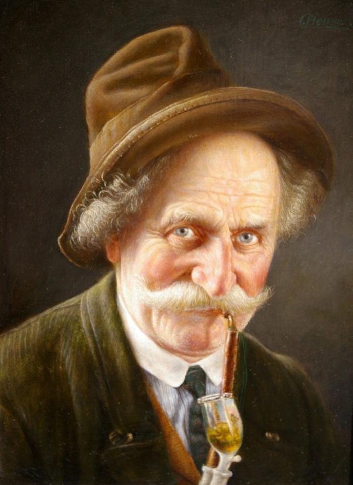 Художник Карл Хойзер (1827-1892гг.)