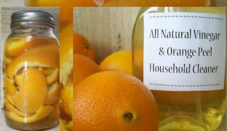 Натуральная бытовая химия из апельсиновых корок