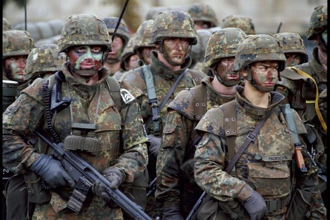 Пьяные солдаты НАТО напали на литовских полицейских