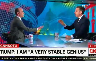 """Ведущий CNN прервал интервью с помощником Трампа из-за """"неправильных"""" ответов"""