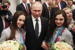 Путин вручил госнаграды российским призерам Олимпийских игр