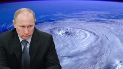 Президент Путин: серия ураганов, атакующих США, генерирована искусственно. У России есть доказательства.