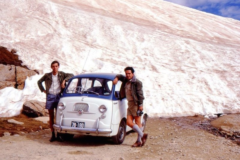 Эпичное путешествие 1969 года из Австралии в Англию