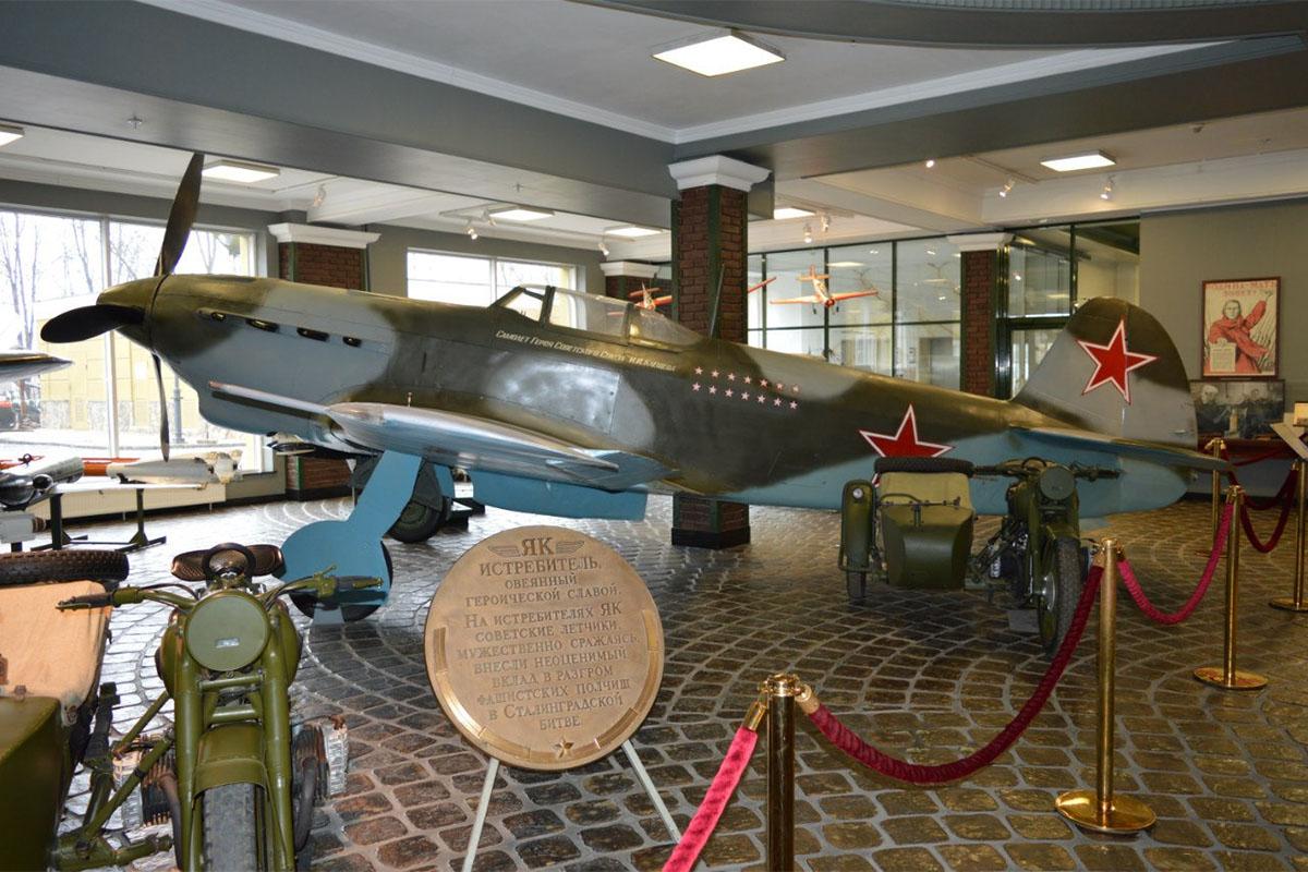 Легендарный истребитель Як, на котором сражался советский ас