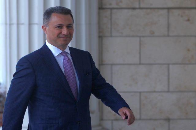 Бывший премьер Македонии просит политическое убежище у властей Венгрии