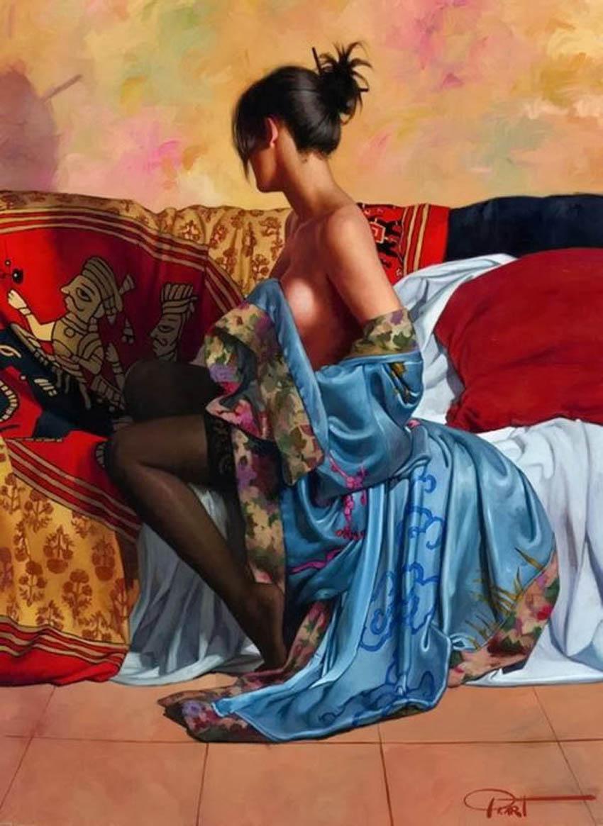 Испанский художник-реалист Габриэль Пикарт...