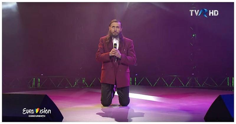 Это не кандидат, это победитель! Румынский участник прослушивания на Евровидение 2017