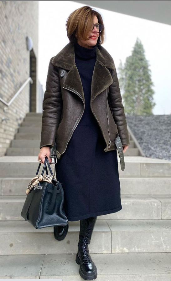 Верхняя одежда на осень и зиму для женщин 50+