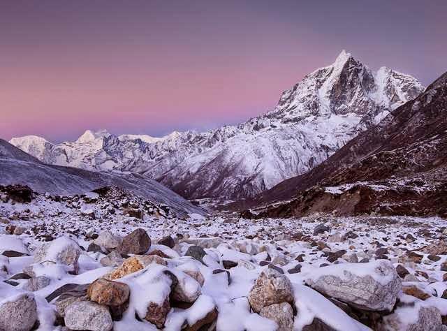 Горные пейзажи от фотографа Koveh Tavakkol
