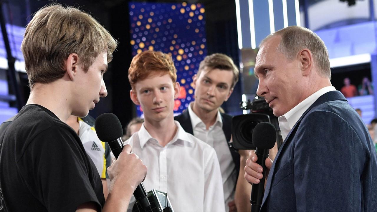И Путин такой молодой…