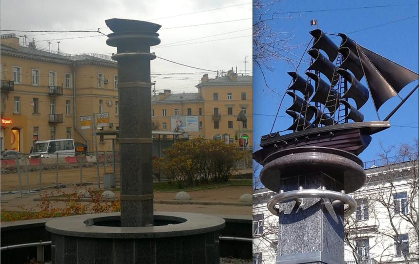 Вандалы лишили фрегат парусов в Петербурге
