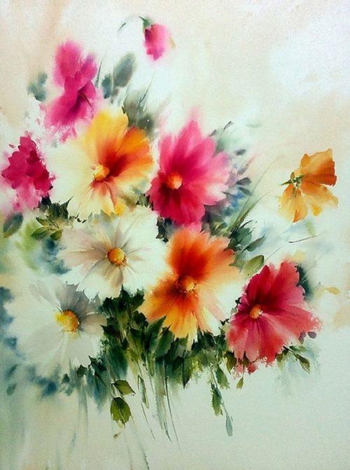 Наверное именно так выглядят райские цветы — невесомые и сказочные акварели Mohammadа Yazdchi