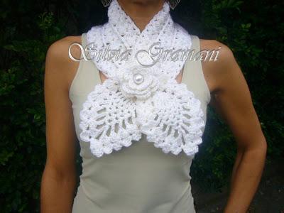 Огромная подборка вязаной бижутерии - в копилочку для идей
