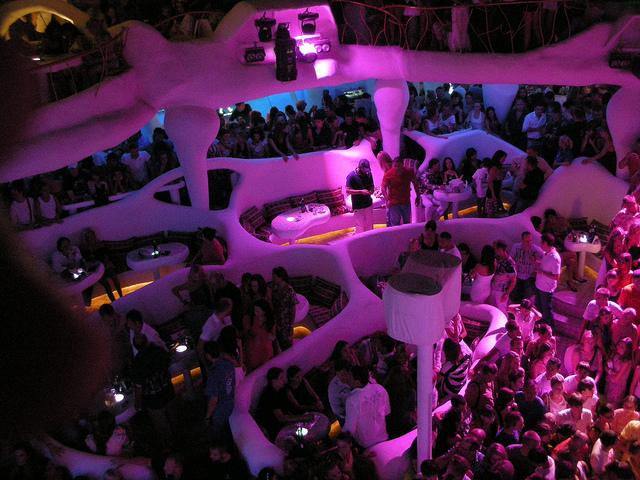 В мордобой концерт в одесском клубе