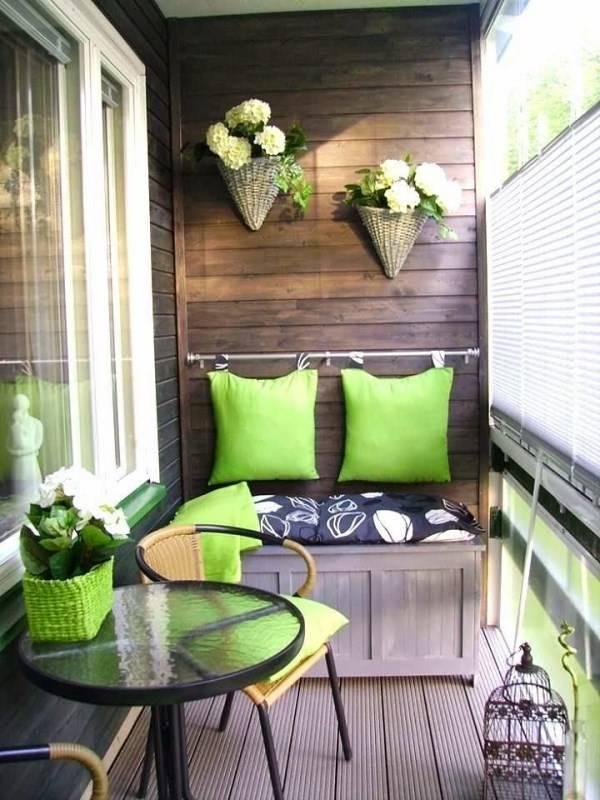 Как декорировать балкон