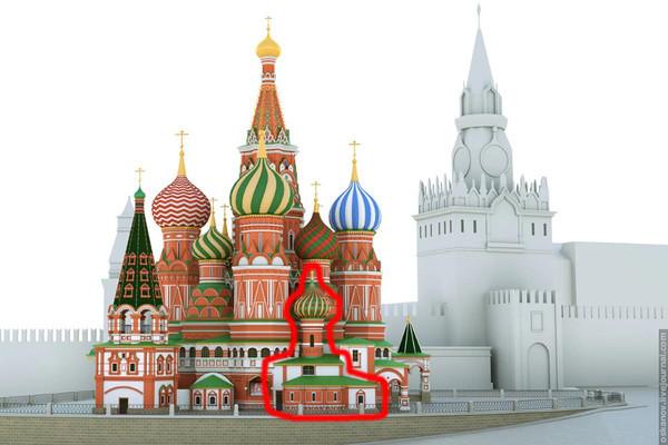 Ну хорошо, хорошо, значит во времена Ивана Грозного вот этой церкви, в плане не было. архитектура, загадки, история, история россии, расследования, тайны