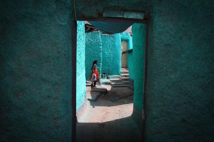 Древние улицы города Харар, отличаются своей необычностью.