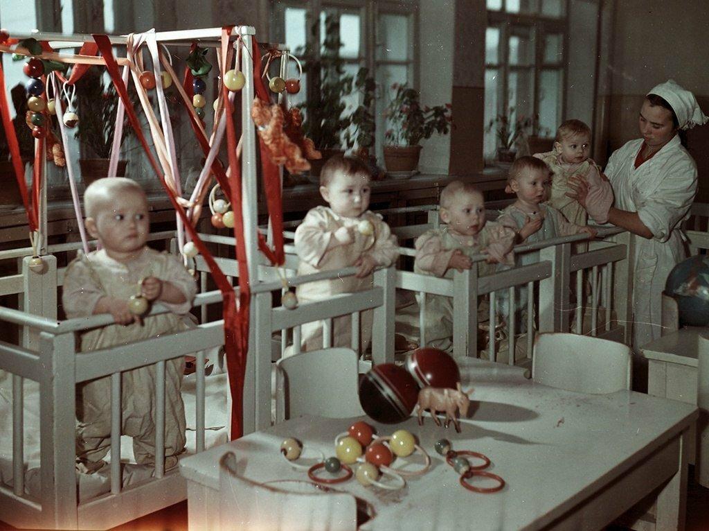 Детский сад времён СССР. Источник: shkolabuduschego.ru