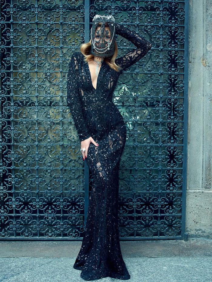 Бьянка Балти (Bianca Balti) в фотосессии Пьерпаоло Феррари (Pierpaolo Ferrari) для журнала Tatler Russia (сентябрь 2013), фото 2