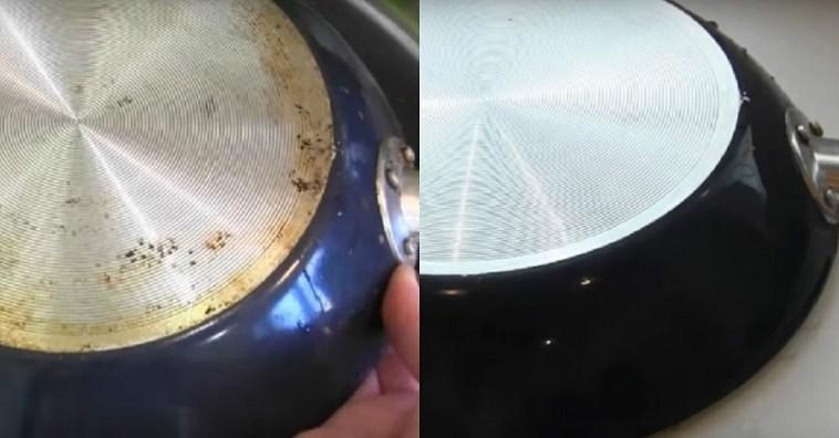 Лучший способ очистить сковородку от нагара и застывшего жира