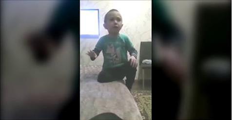 4-летний мальчик из Черкесска учит маму, как нужно с ним разговаривать