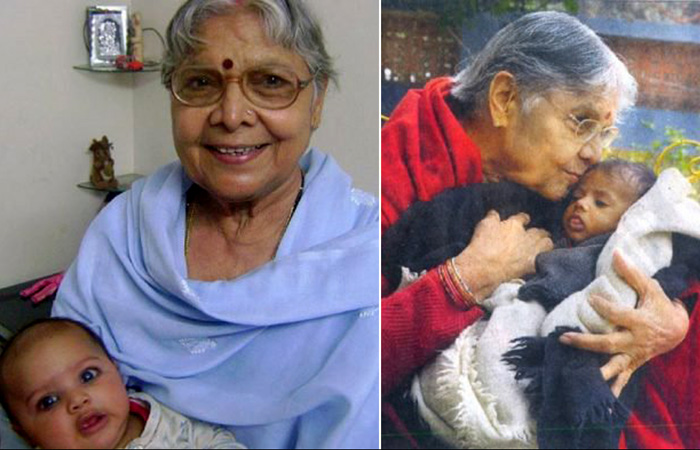 Индийская женщина стала матерью для 800 девочек
