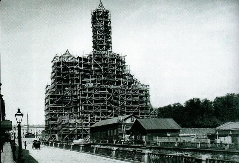 Строительство Собора Воскресения Христова история, санкт- петербург, факты, храм.