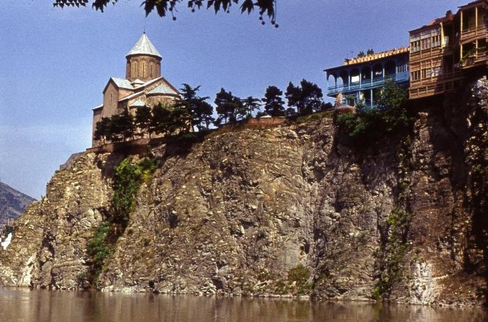 Исторический район Тбилиси.