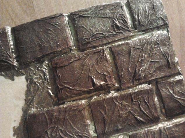 Имитация кирпичной стены без использования строительных растворов. МК