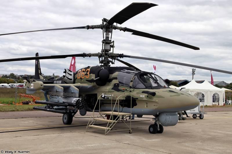 На Ка-52 установят новый комплекс обороны