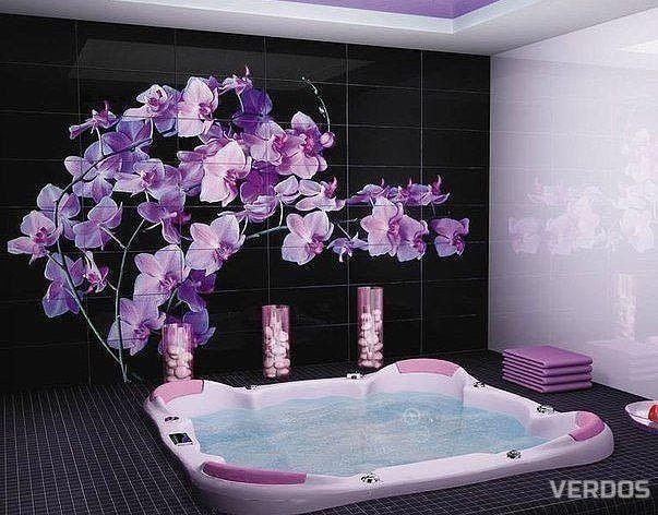 Красивейшая плитка в ванной