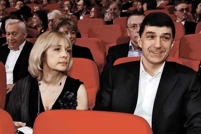 Вера Глаголева и ее второй муж, Кирилл Шубский | Фото: kp.ru