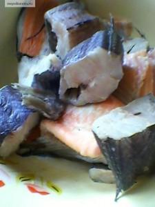 Солянка из морской рыбы