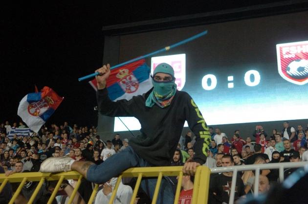 Албания и Сербия требуют от УЕФА отмены наказания за сорванный матч