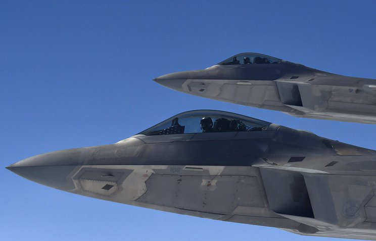CNN: американские истребители были подняты для перехвата самолетов РФ в небе над Сирией