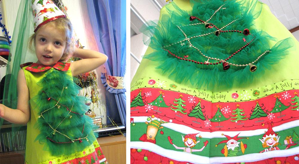 Новогодние костюм для девочки сшить своими руками 732