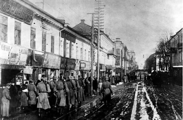 Оккупация и украинизация Белоруссии