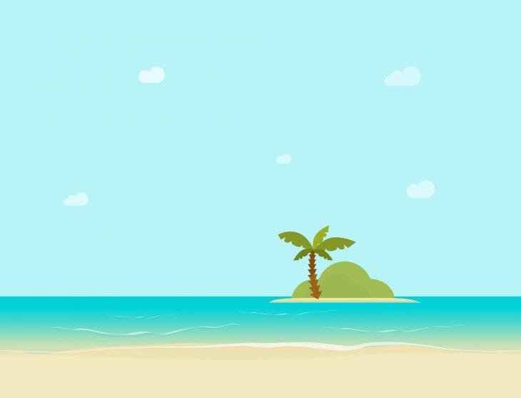 Оказались мужчина и женщина на необитаемом острове...