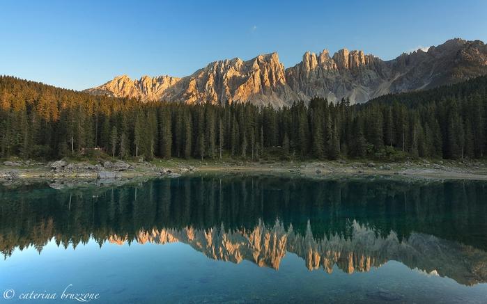 Озеро Радуги, Италия