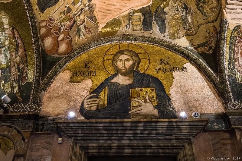 Мозаики и фрески Хоры. Экзонартекс. Чудеса Иисуса Христа. Часть 5.