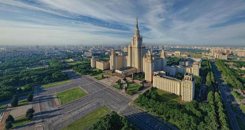 Главное здание МГУ: история строительства